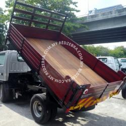 Isuzu NHR Single Cab Wooden Tipper