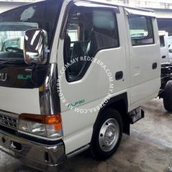 Isuzu NHR Double Cab Chassis