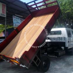 Toyota Double Cabin Wooden Tipper