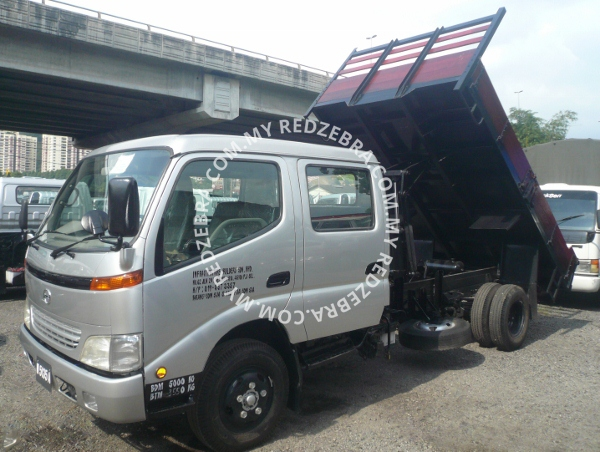 Hino Double Cabin Wooden Tipper 3815mm