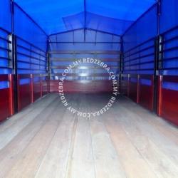 Hino Single Cabin Wooden Body