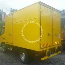 Toyota LY230 Single Cabin Box Lorry