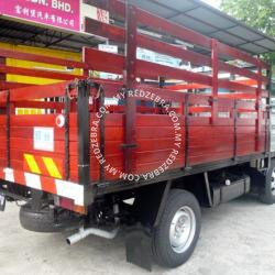 Toyota DYNA LY131 Single Cabin Wooden Cargo