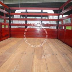 Isuzu NPR Double Cabin Wooden Cargo