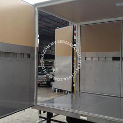 Isuzu NPR Single Cabin 17ft Box Full Open