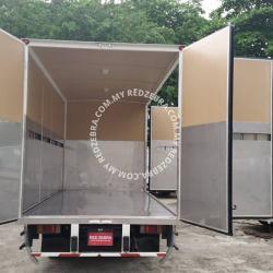Isuzu NPR71 Single Cabin 17ft Box Full Open