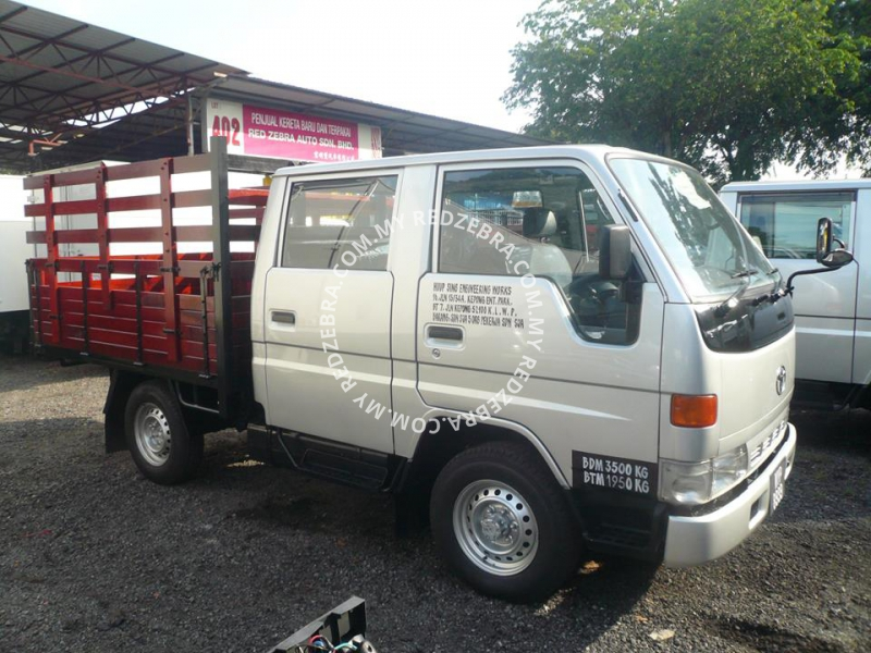 Toyota DYNA LY131 Double Cabin Wooden Cargo