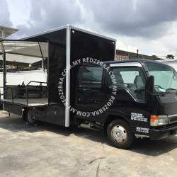 Food Truck Black Colour