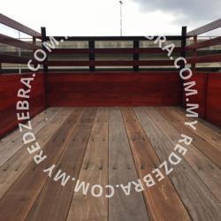 Isuzu Single Cabin Wooden Cargo
