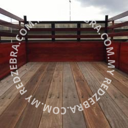 Isuzu Single Cabin Wooden Tipper