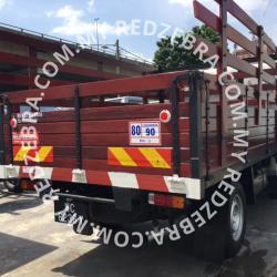 Toyota Single Cabin Wooden Cargo